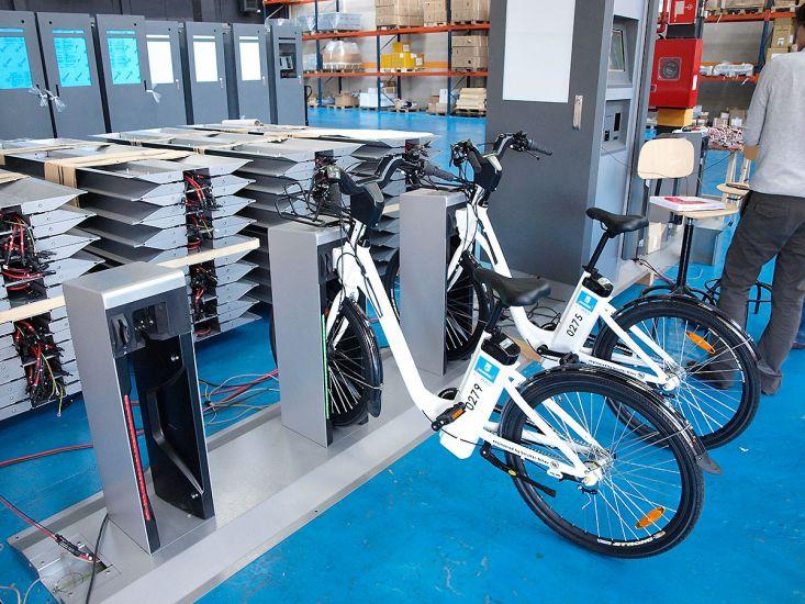 В Европе всё большую популярность набирает прокат велосипедов